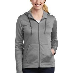 Ladies Therma FIT Full Zip Fleece Hoodie Thumbnail
